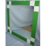 Изображение Зеркало с декоративными накладками 600 х 600 мм. 02.17.1 - изображение 1