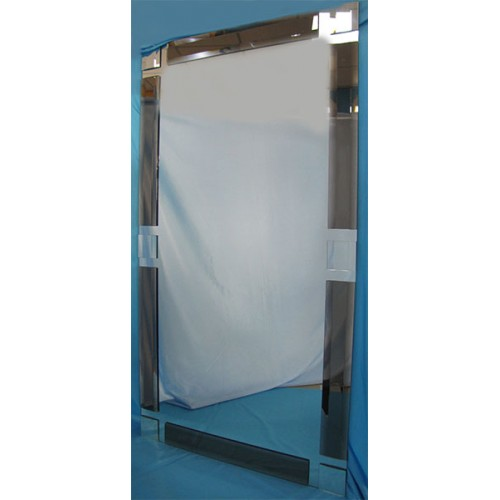Изображение Зеркало с декоративными накладками 1300 х 700 мм. 02.17.17 - изображение 2