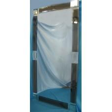 Изображение Зеркало с декоративными накладками 1300 х 650 мм. 02.17.19