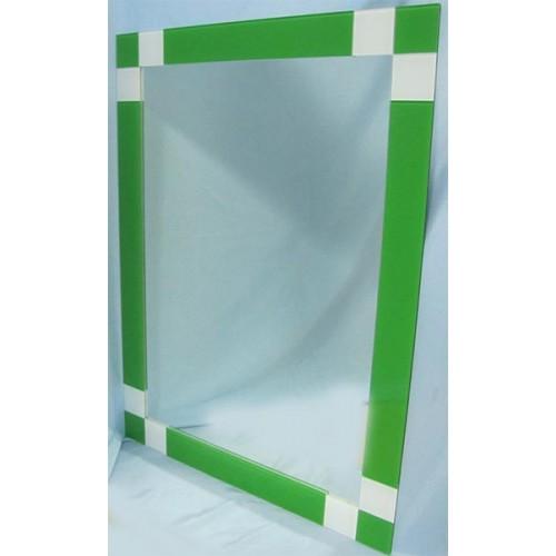 Изображение Зеркало с декоративными накладками 800 х 600 мм. 02.17.2 - изображение 2
