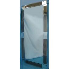 Изображение Зеркало с декоративными накладками 1300 х 600 мм. 02.17.20