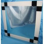 Изображение Зеркало с декоративными накладками 600 х 600 мм. 02.17.21 - изображение 1