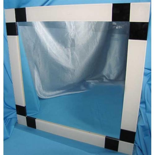Изображение Зеркало с декоративными накладками 600 х 600 мм. 02.17.21 - изображение 2
