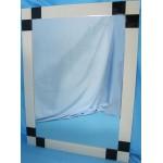 Изображение Зеркало с декоративными накладками 800 х 600 мм. 02.17.22 - изображение 1