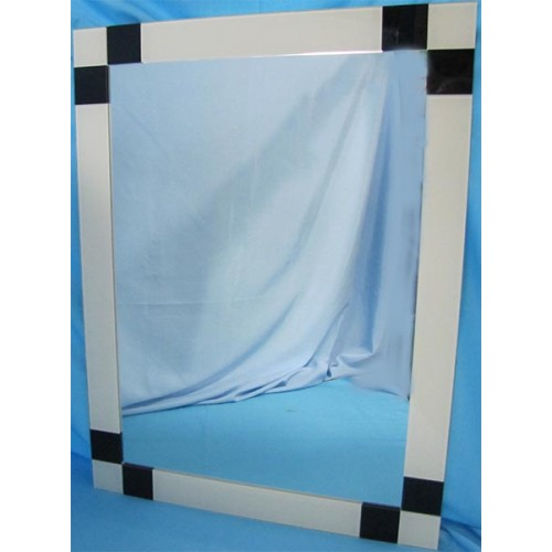 Изображение Зеркало с декоративными накладками 800 х 600 мм. 02.17.22 - изображение 2