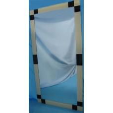 Изображение Зеркало с декоративными накладками 1200 х 600 мм. 02.17.24