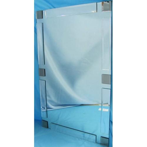 Изображение Зеркало с декоративными накладками 1000 х 500 мм. 02.17.27 - изображение 2