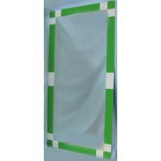 Изображение Зеркало с декоративными накладками 1200 х 600 мм. 02.17.4