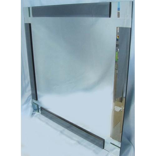 Изображение Зеркало с декоративными накладками 600 х 600 мм. 02.17.5 - изображение 2