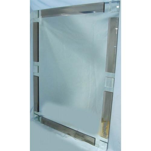 Изображение Зеркало с декоративными накладками 800 х 600 мм. 02.17.6 - изображение 2