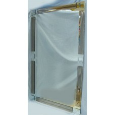 Изображение Зеркало с декоративными накладками 1000 х 600 мм. 02.17.7