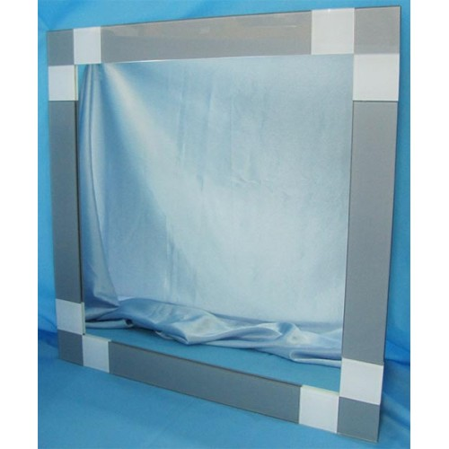 Изображение Зеркало с декоративными накладками 600 х 600 мм. 02.17.9 - изображение 2