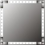 Зображення Дзеркало 700 х 700 мм. 02.18.19 - изображение 1