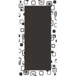 Зображення Дзеркало 1200 х 600 мм. 02.18.22 - изображение 1