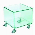 Изображение Стол-куб ТВ стенд на колесах 400х400х410 мм. 03.8.6 - изображение 1