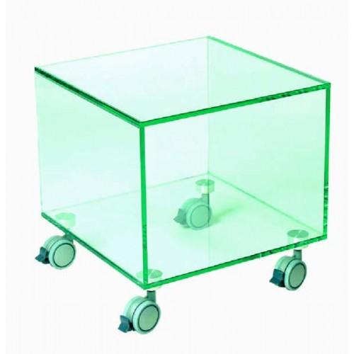 Изображение Стол-куб ТВ стенд на колесах 400х400х410 мм. 03.8.6 - изображение 2