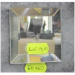 Зображення Декоративний дзеркальний елемент з фацетом 60 х 60 мм.  011.8.35 - изображение 1