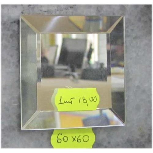Зображення Декоративний дзеркальний елемент з фацетом 60 х 60 мм.  011.8.35 - изображение 2