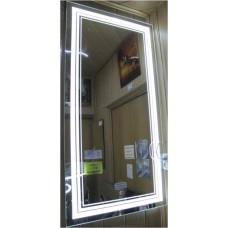Изображение Зеркало с LED подсветкой и сенсорным выключателем (на движение человека)  1300 х 650 мм. 02.7.82