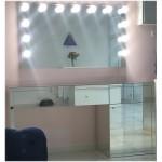Изображение Зеркало с подсветкой 800 х 1400 мм. и зеркальным столом 02.21.12 - изображение 2