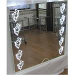 Зображення Дзеркало з LED підсвічуванням 700 х 700 мм. 02.7.99 - изображение 4