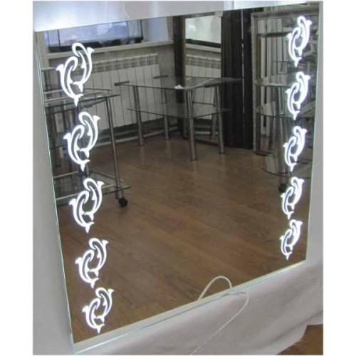 Зображення Дзеркало з LED підсвічуванням 700 х 700 мм. 02.7.99 - изображение 8
