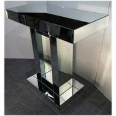 Зображення Дзеркальний туалетний столик з дзеркалом 800 х 800 х 350 мм. 03.09.29