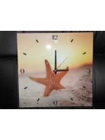 Нові види настінних годинників зі скла