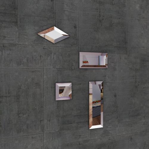 Изображение Декоративные зеркальные элементы в ассортименте 011.8.22 - изображение 4