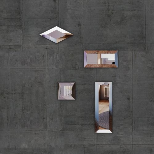 Изображение Декоративные зеркальные элементы в ассортименте 011.8.22 - изображение 5