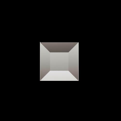 Зображення Декоративний дзеркальний елемент з фацетом 38х38 мм 011.8.23 - изображение 3