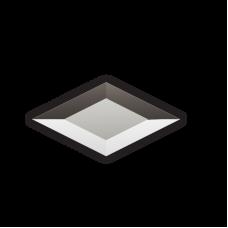 Изображение Декоративный зеркальный элемент с фацетом 51х101 мм 011.8.24