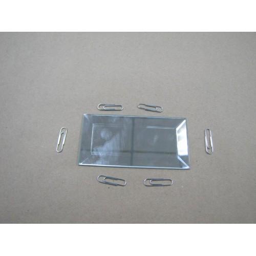 Изображение Декоративный зеркальный элемент с фацетом 51х102 мм 011.8.27 - изображение 2