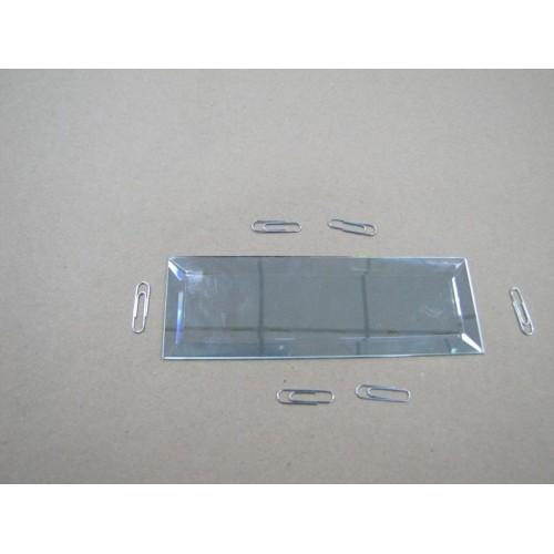 Зображення Декоративний дзеркальний елемент з фацетом 51х152 мм. 011.8.28 - изображение 2