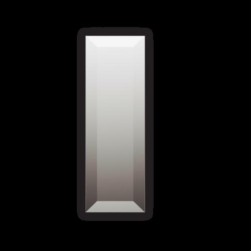 Изображение Декоративный зеркальный элемент с фацетом 51х152 мм. 011.8.28 - изображение 3