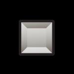 Изображение Декоративный стеклянный элемент с фацетом 38х38 мм 011.8.33 - изображение 1
