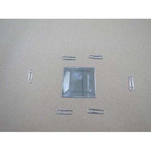 Зображення Декоративний дзеркальний елемент з фацетом 51х51 мм 011.8.29 - изображение 2