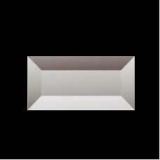 Изображение Декоративный зеркальный элемент с фацетом 38х75 мм 011.8.31