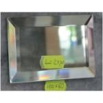 Зображення Декоративний дзеркальний елемент з фацетом 100 х 60 мм. 011.8.36 - изображение 1