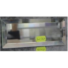 Зображення Декоративний дзеркальний елемент з фацетом 160 х 60 мм. 011.8.37