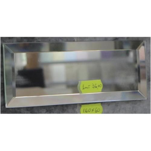 Изображение Декоративный зеркальный элемент с фацетом 160 х 60 мм. 011.8.37 - изображение 2