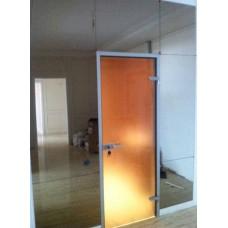 Изображение Дверь матовая из стекла