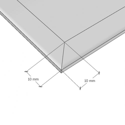 Изображение Зеркало с фацетом 10 мм, 950 х 450 мм. 1168 - изображение 10