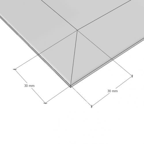 Изображение Зеркало с фацетом 30 мм, 1300 х 700 мм. 1147 - изображение 10