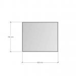 Изображение Зеркало 4 мм с фацетом 10 мм 700 х 850 мм. 1120 - изображение 3
