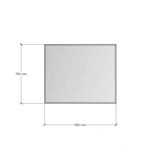 Изображение Зеркало 4 мм с фацетом 10 мм 700 х 850 мм. 1120 - изображение 8