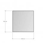 Зображення Дзеркало з фацетом 20 мм, 800 х 800 мм. 1123 - изображение 2