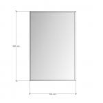Зображення Дзеркало з фацетом 10 мм, 900 х 600 мм. 1151 - изображение 3