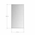 Зображення Дзеркало з фацетом 10мм 1050 х 550 мм. 1155 - изображение 3