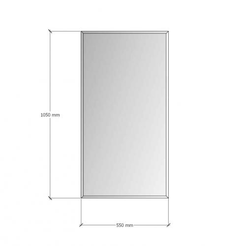 Зображення Дзеркало з фацетом 10мм 1050 х 550 мм. 1155 - изображение 8